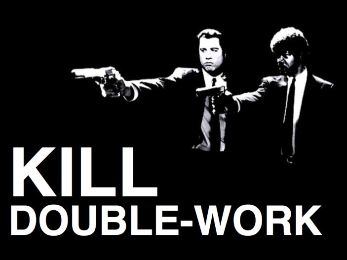 Kill Double-work Pulp Fiction
