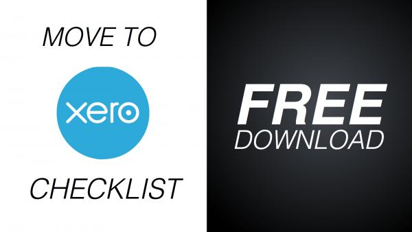 Move to Xero Checklist