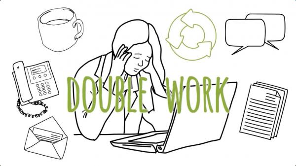 afficient-double-work